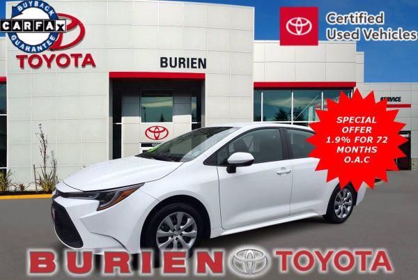 2020 Toyota Corolla in Burien, WA