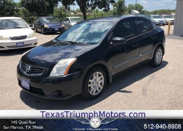 2011 Nissan Sentra 2 0 S CVT For Sale in San Marcos, TX | TrueCar