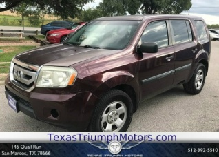 Used 2011 Honda Pilot LX FWD For Sale In San Marcos, TX