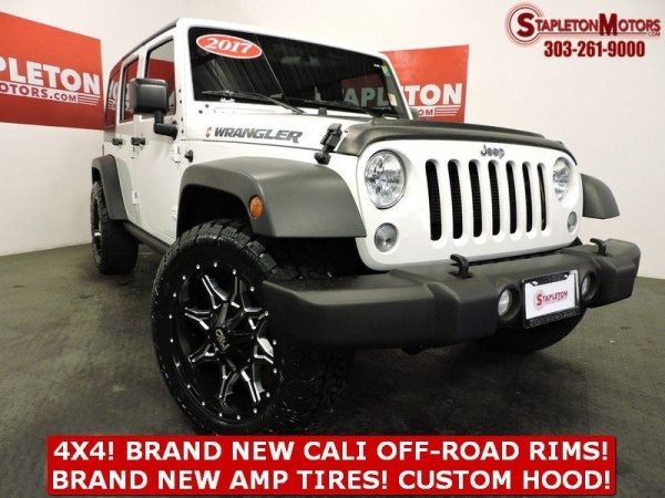 2017 Jeep Wrangler in Commerce City, CO