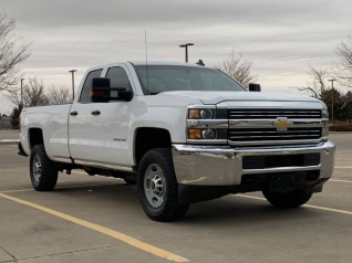 2016 Chevrolet Silverado 2500hd Work Truck Double Cab Long Box 4wd For In Aurora