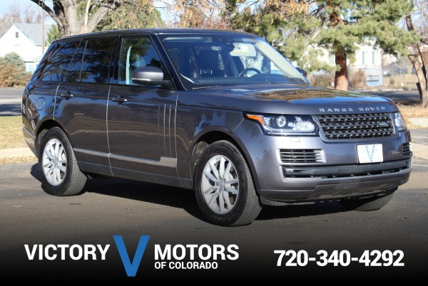2017 Land Rover Range Rover in Longmont, CO