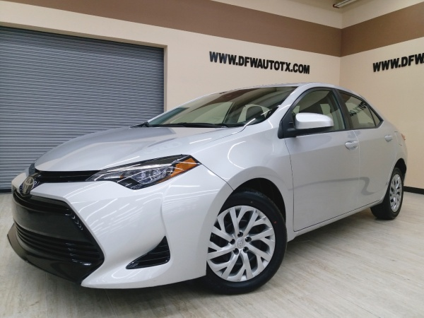 Fort Worth Toyota >> 2017 Toyota Corolla Le Cvt For Sale In Fort Worth Tx Truecar