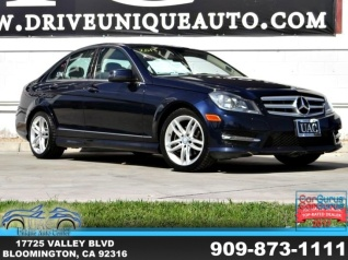 Used 2013 Mercedes Benz C Class C 250 Sport Sedan RWD For Sale In