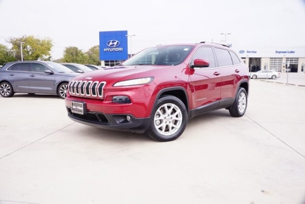2017 Jeep Cherokee in Weatherford, TX