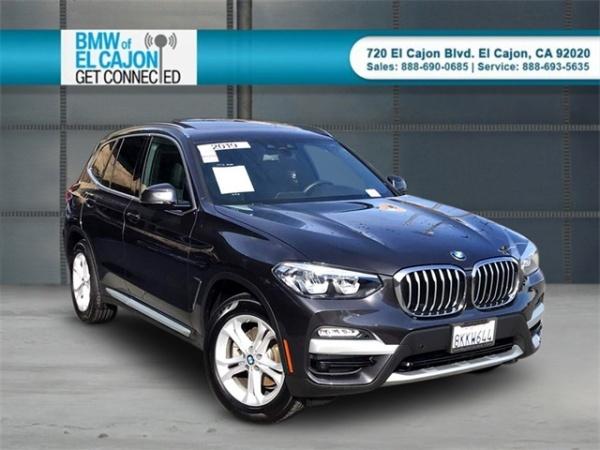 2019 BMW X3 in El Cajon, CA