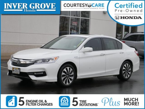 2017 Honda Accord Hybrid Ex L Sedan