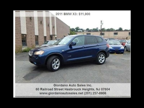 2011 BMW X3 in Hasbrouck Heights, NJ