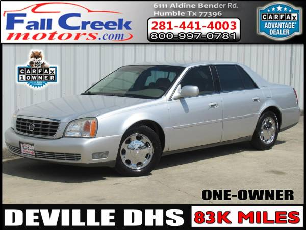 2002 cadillac deville dhs for sale in humble tx truecar truecar