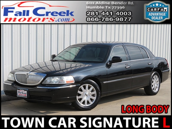 2009 Lincoln Town Car Signature L For Sale In Humble Tx Truecar