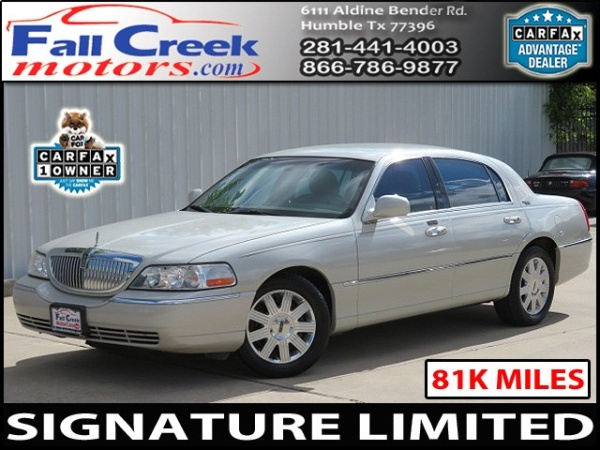 2005 Lincoln Town Car Signature Limited For Sale In Humble Tx Truecar