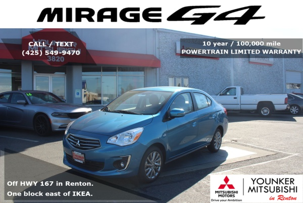 2019 Mitsubishi Mirage in Renton, WA