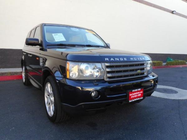 Land Rover Sacramento >> 2008 Land Rover Range Rover Sport Hse For Sale In Sacramento