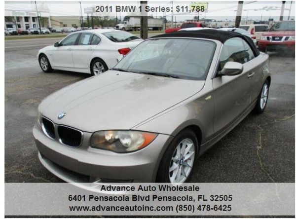 2011 BMW 1 Series in Pensacola, FL