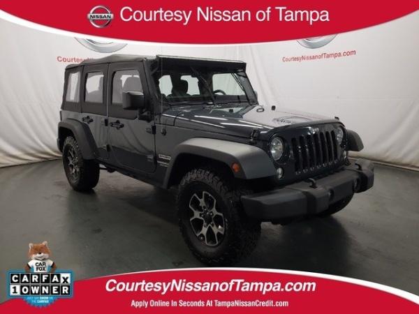 2017 Jeep Wrangler in Tampa, FL