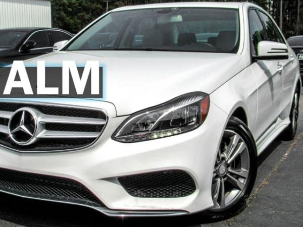 2016 Mercedes-Benz E