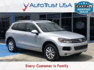 Used Volkswagen Touaregs for Sale | TrueCar