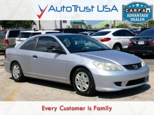 2005 Honda Civic Vp Coupe Automatic For In Miami Fl
