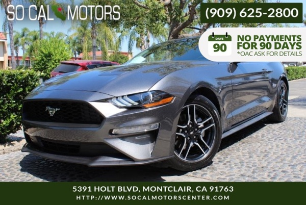 2018 Ford Mustang in Montclair, CA