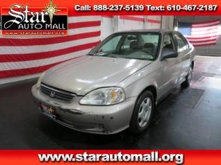 Used 2000 Honda Civic EX Sedan Automatic For Sale In Bethlehem, PA