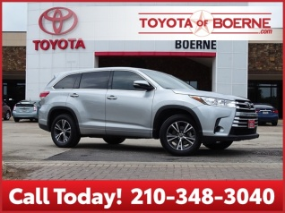 2017 Toyota Highlander Le I4 Fwd For In Boerne Tx