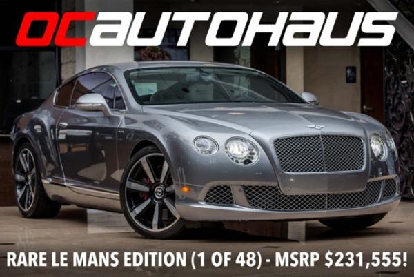 2013 Bentley Continental Gt Speed For Sale In Westminster Ca Truecar