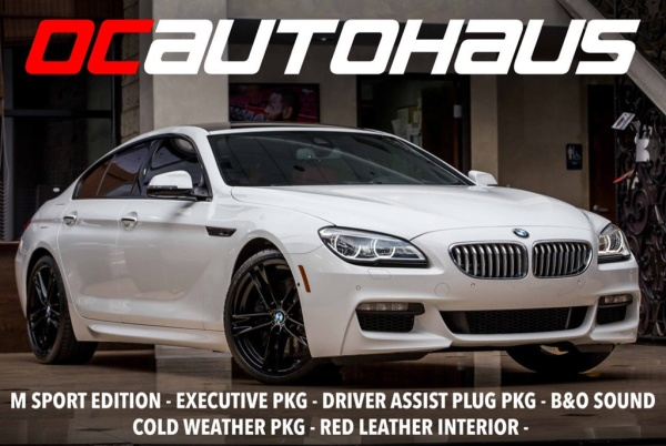 2017 BMW 6 Series 650i Gran Coupe