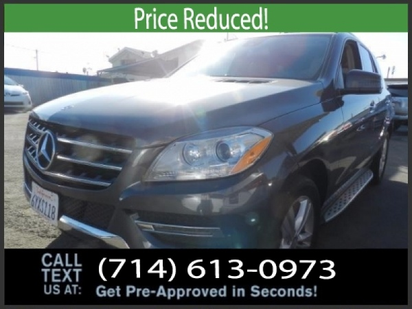 2013 Mercedes-Benz M-Class in Midway City, CA