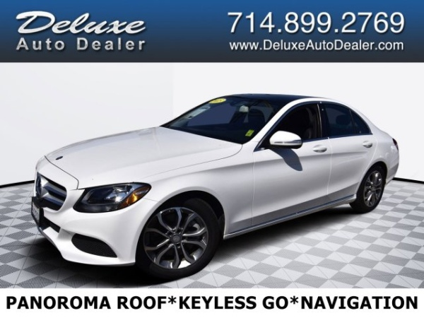 2015 Mercedes-Benz C-Class in Midway City, CA
