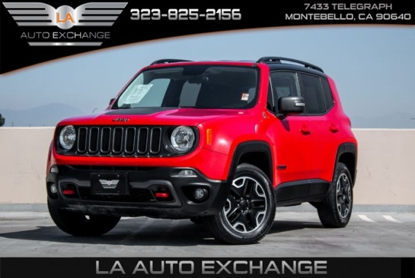 2017 Jeep Renegade in Montebello, CA