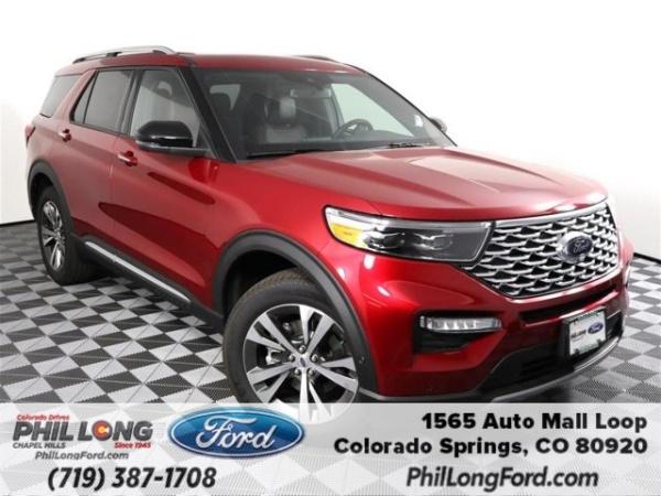 2020 Ford Explorer in Colorado Springs, CO