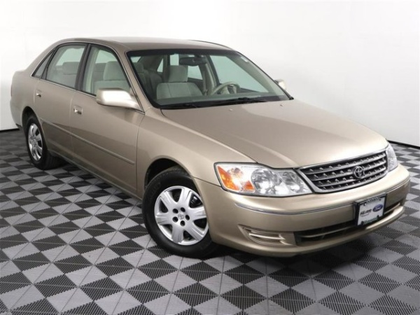 2003 toyota avalon maintenance schedule