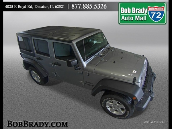 2017 Jeep Wrangler in Decatur, IL