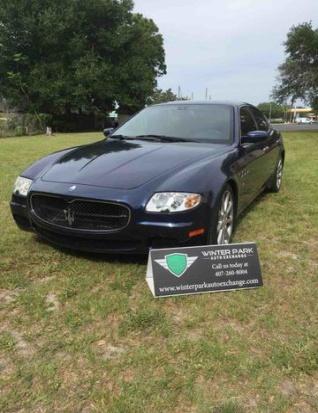 Used Maserati Quattroporte For Sale Search 301 Used Quattroporte