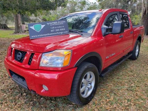 2011 Nissan Titan PRO-4X