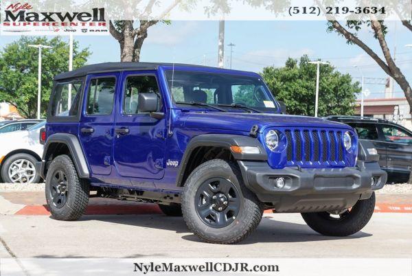 2020 Jeep Wrangler in Austin, TX