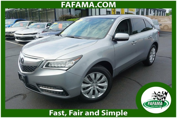 2016 Acura MDX in Milford, MA