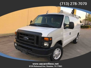 90f9c2190a 2011 Ford Econoline Cargo Van E-250 Commercial for Sale in Houston