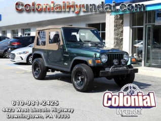 Used 2000 Jeep Wrangler SE For Sale In Downingtown, PA
