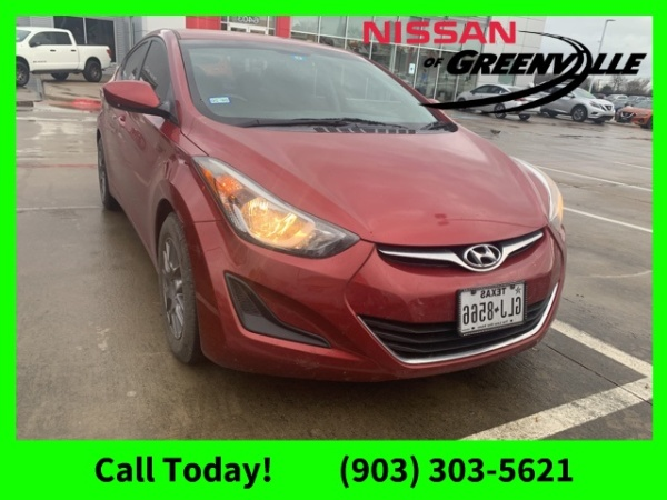 2014 Hyundai Elantra in Greenville, TX