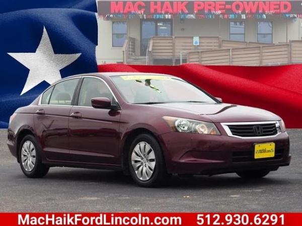 2008 Honda Accord in Georgetown, TX