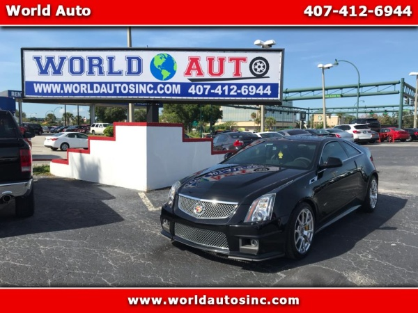 2014 Cadillac Cts V Coupe For Sale In Orlando Fl Truecar