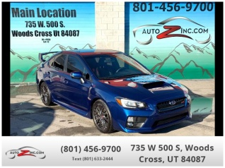 2017 Subaru Wrx Sti Manual For In Woods Cross Ut