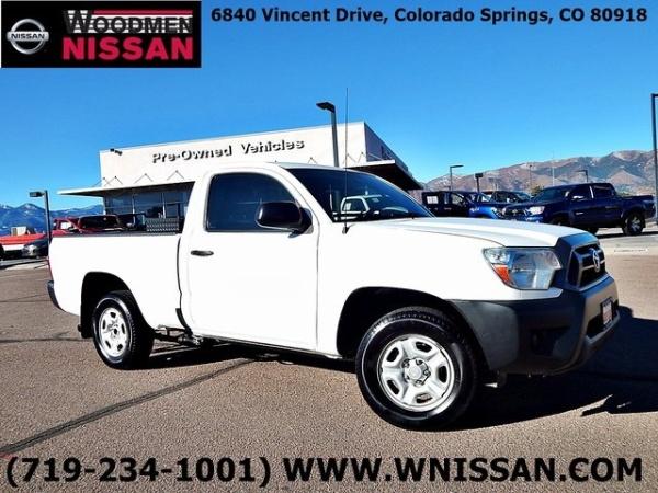 2012 Toyota Tacoma Regular Cab I4 Rwd Automatic For Sale