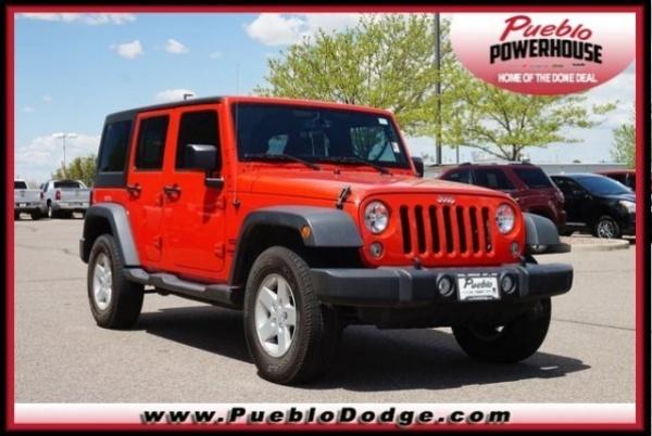 2015 Jeep Wrangler in Pueblo, CO