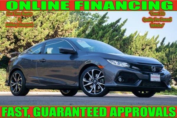 Honda National City >> 2017 Honda Civic Si Coupe Manual For Sale In National City Ca Truecar