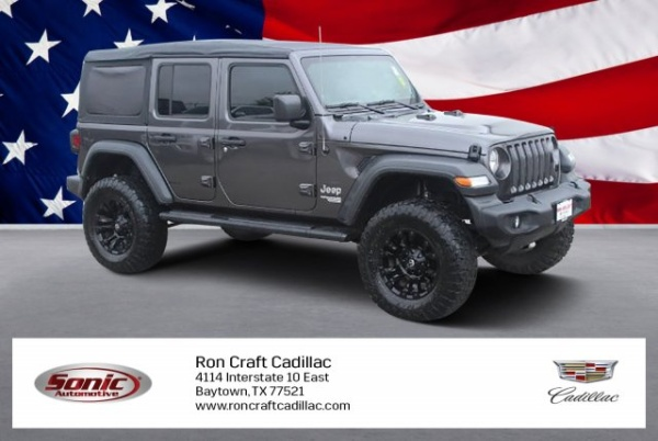 2018 Jeep Wrangler in Baytown, TX