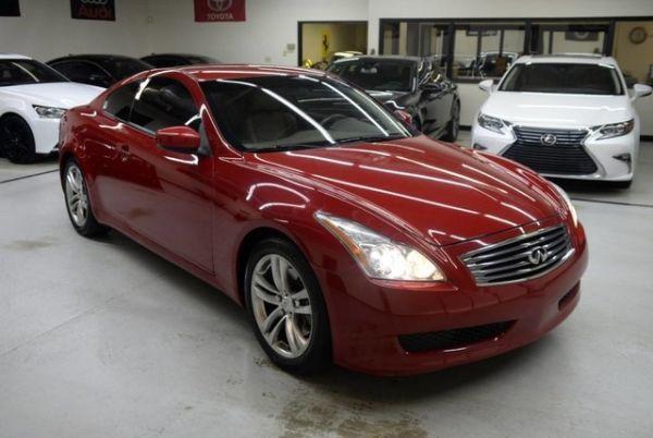 2009 INFINITI G37 Coupe