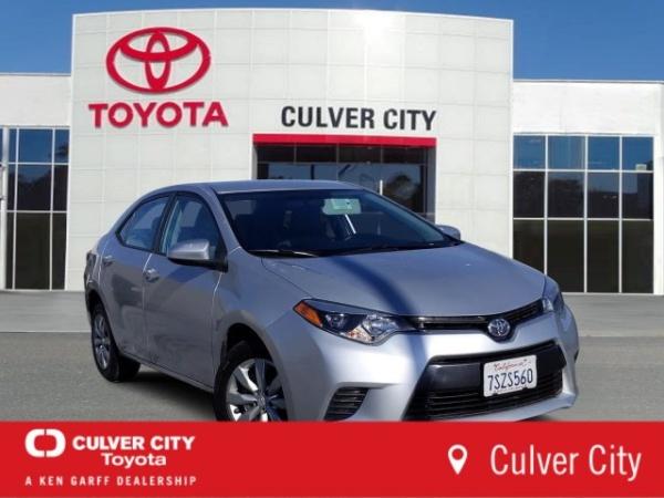 2016 Toyota Corolla in Culver City, CA
