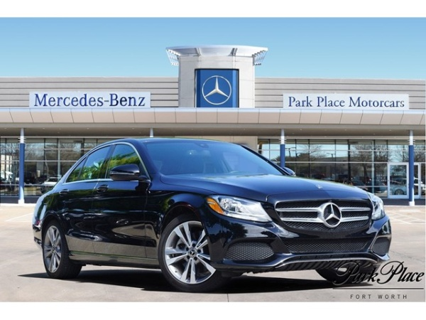 2018 Mercedes-Benz C-Class in Fort Worth, TX